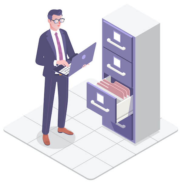 document management system folders