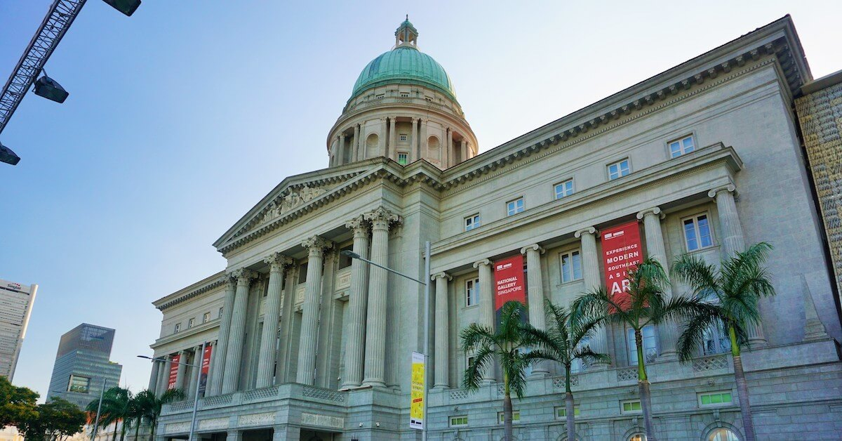 facility management system national gallery of singapore